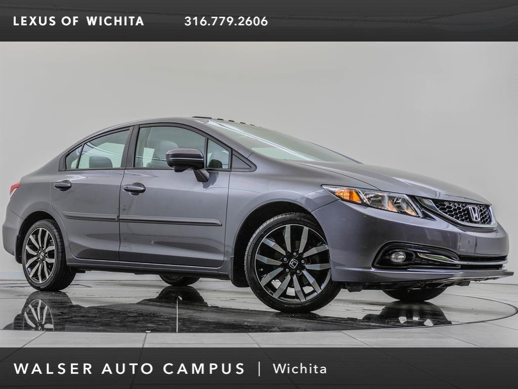 Pre-Owned 2015 Honda Civic Sedan EX-L