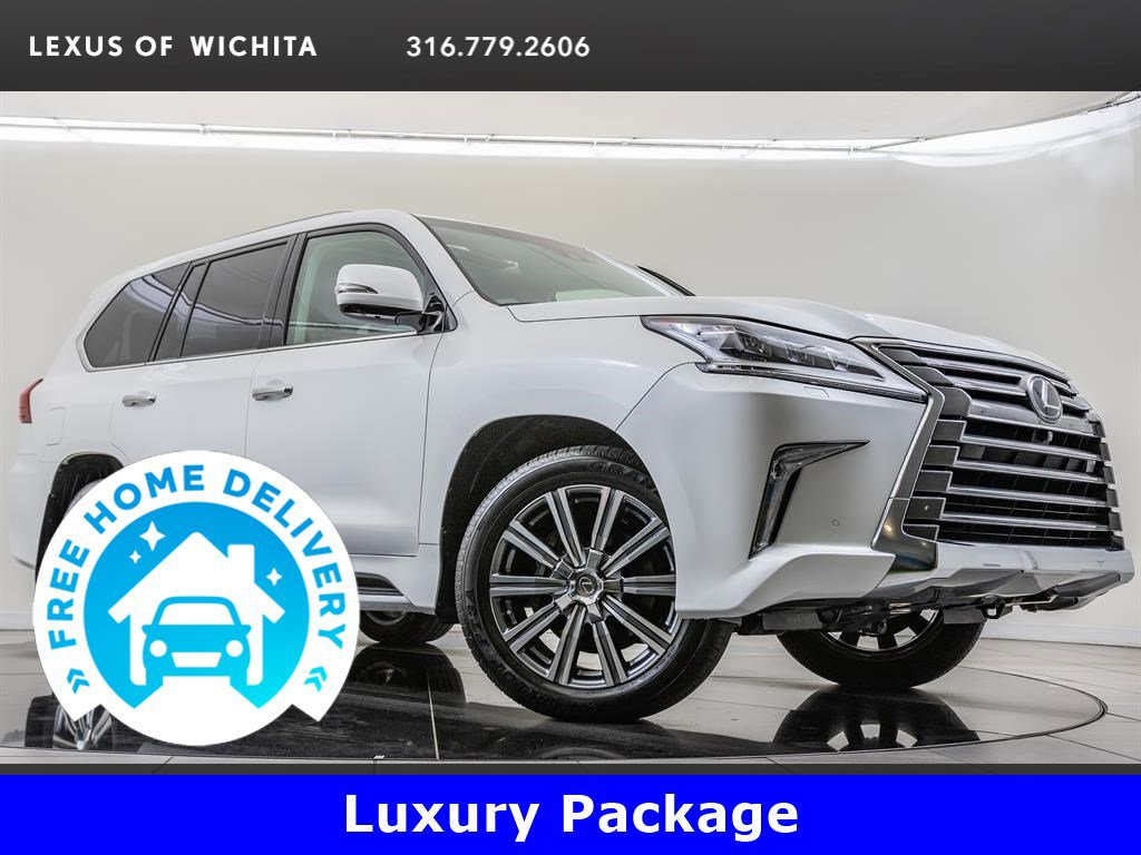 Pre-Owned 2017 Lexus LX 570 Luxury Package, Navigation, Factory Wheel Upgrade