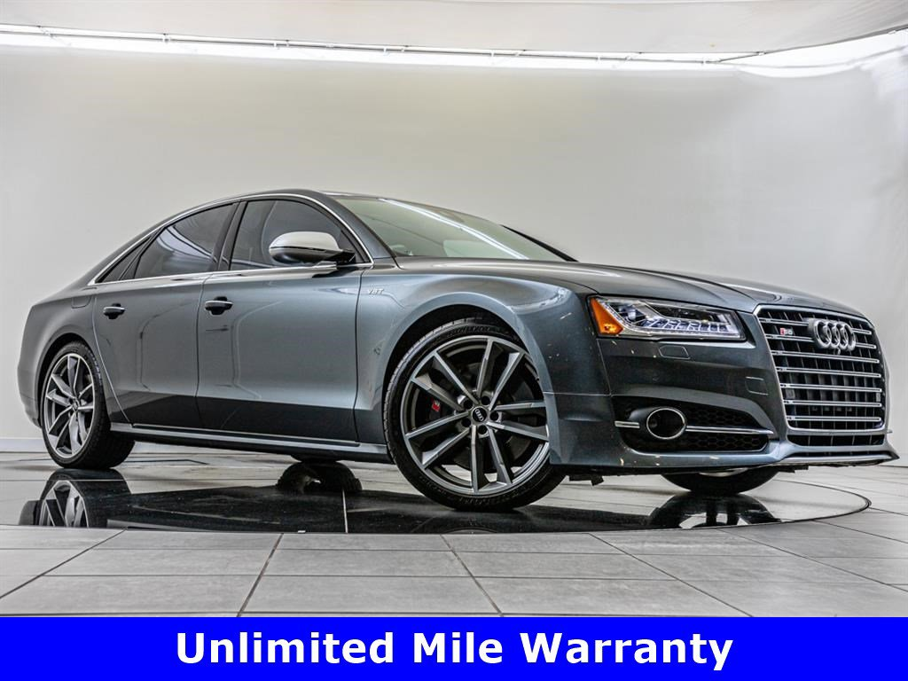 Certified Pre-Owned 2017 Audi S8 plus plus quattro, Driver Assistance Package
