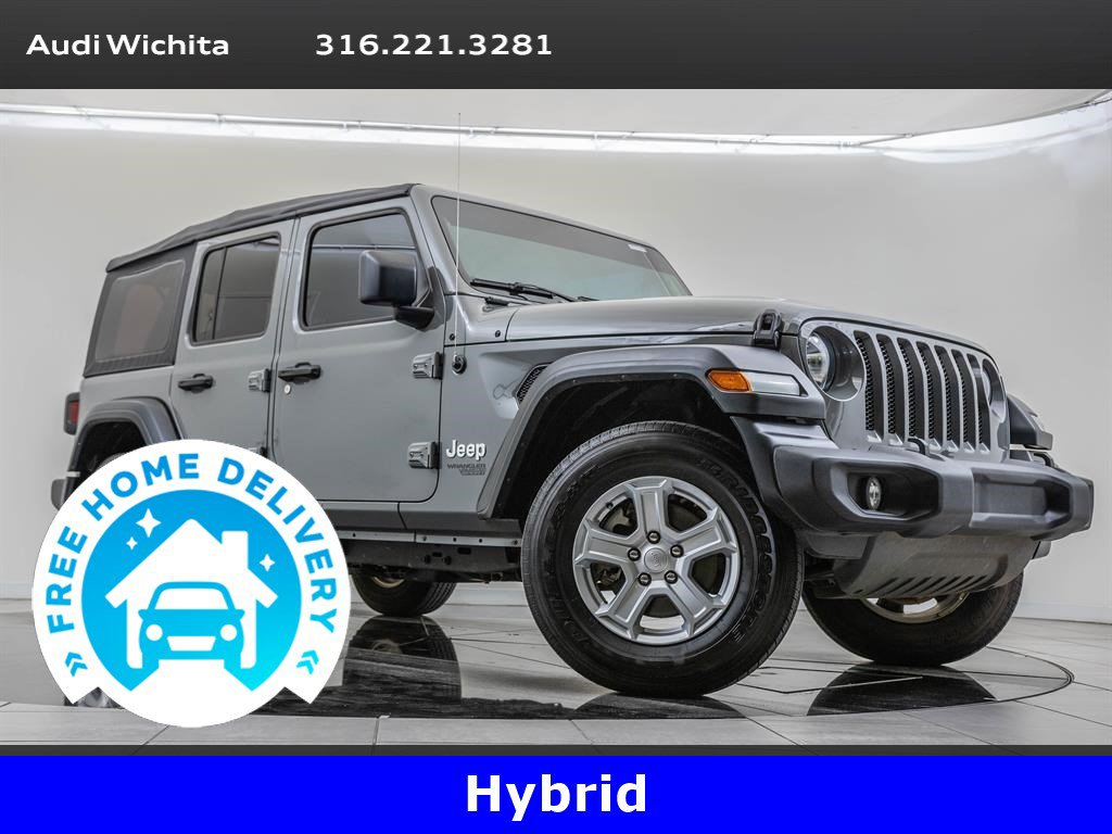 Pre-Owned 2018 Jeep Wrangler Unlimited Unlimited Sport