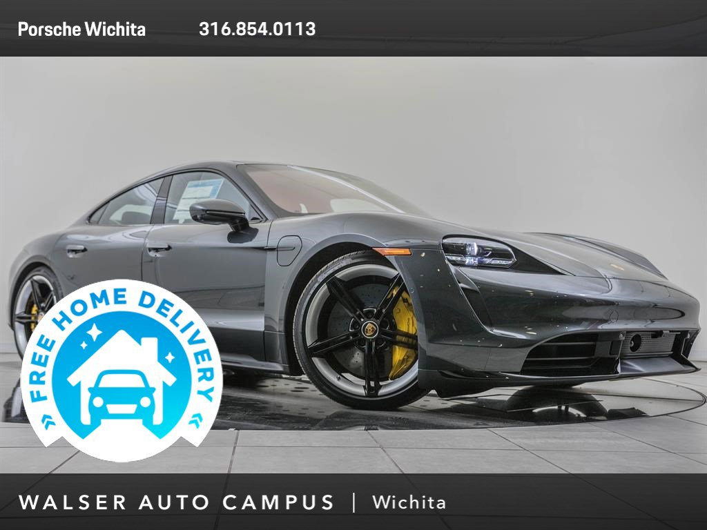 New 2020 Porsche Taycan Turbo With Navigation & AWD