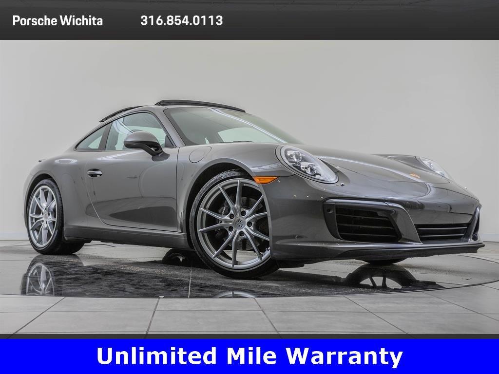 Pre-Owned 2017 Porsche 911 Factory Wheel Upgrade, Premium Package Plus