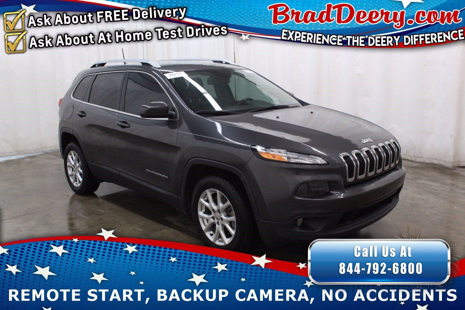 2018 Jeep Cherokee Latitude Plus w/ Back-up Camera, Rear Park Assist & Safetytec Group