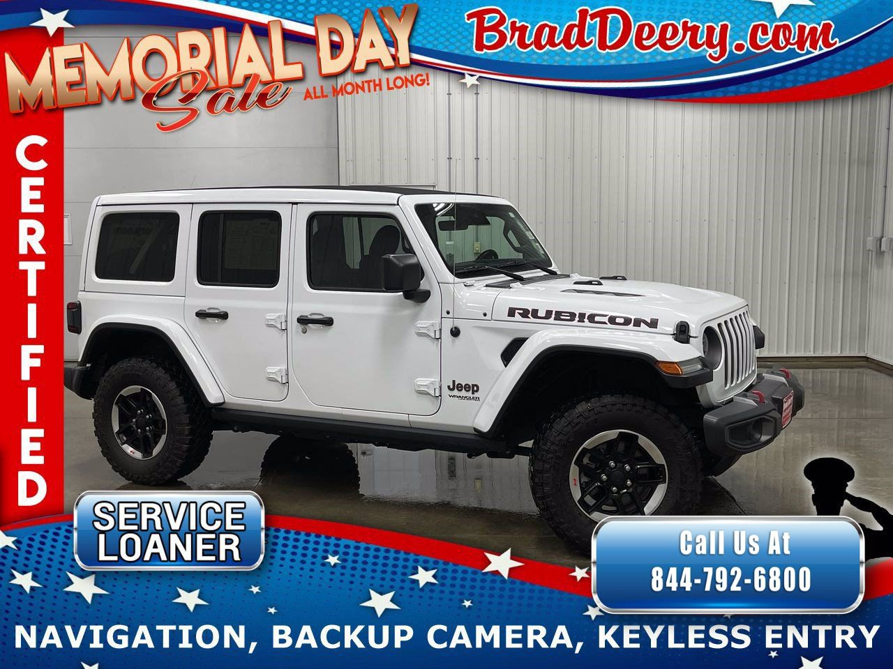 2020 Jeep Wrangler Unlimited 4-Door Rubicon 4X4  **JEEP CERTIFIED** w/ Sky One-Touch Power Top, Leather, Navigation & Safety Group