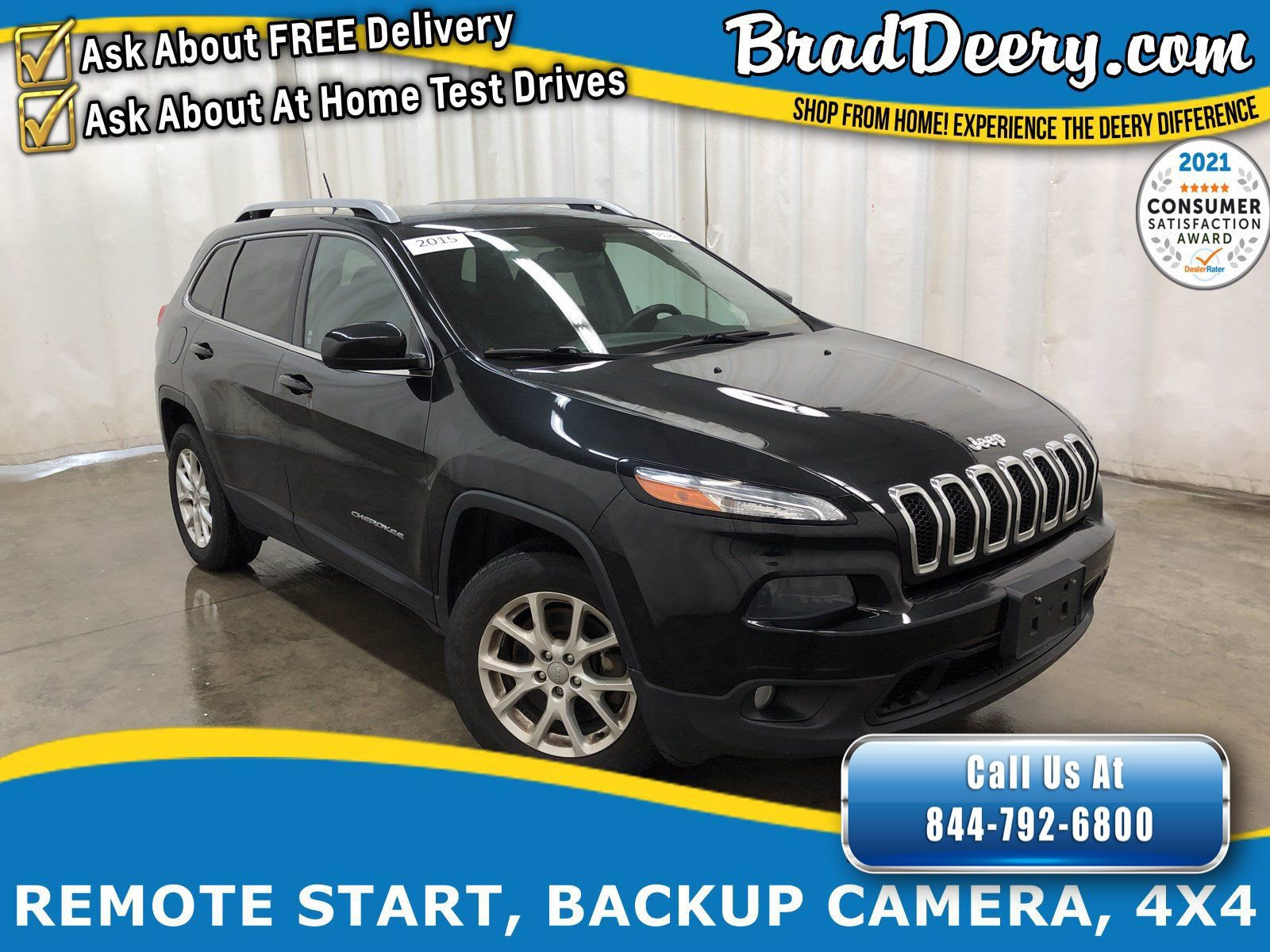 2015 Jeep Cherokee Latitude 4X4 w/ No Accidents, Heated Seats, Remote Start, Back-Up Camera & Jeep Active Drive