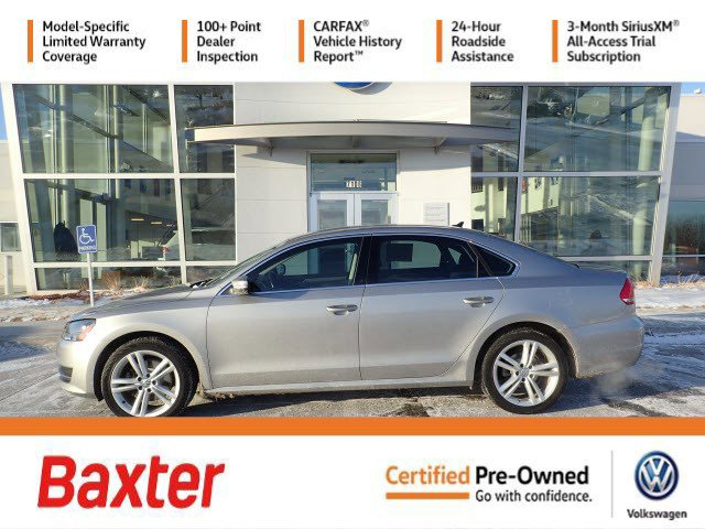 Certified Pre-Owned 2014 Volkswagen Passat TDI SE w/Sunroof