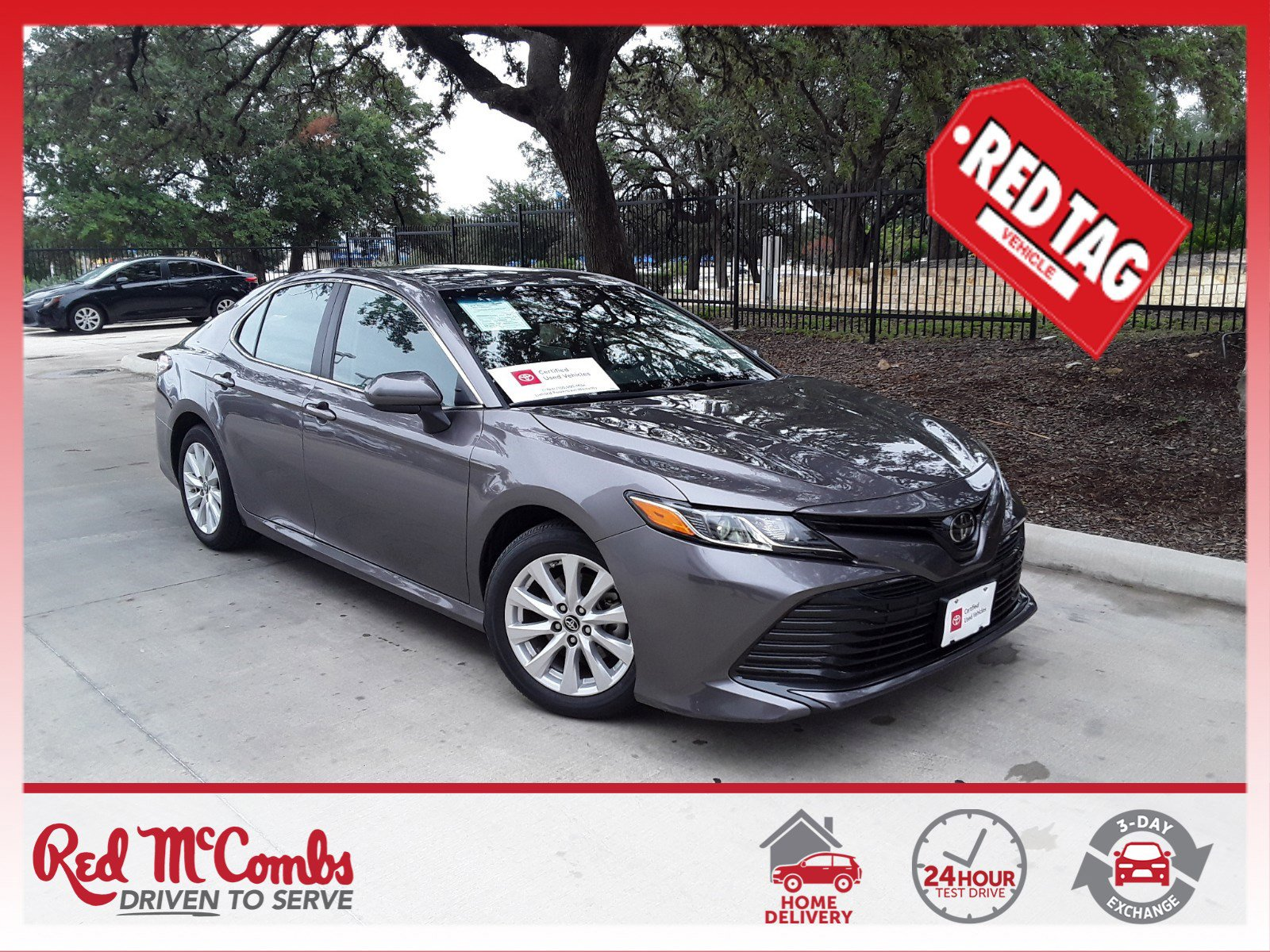 Pre-Owned 2019 Toyota Camry LE 4dr Car FWD