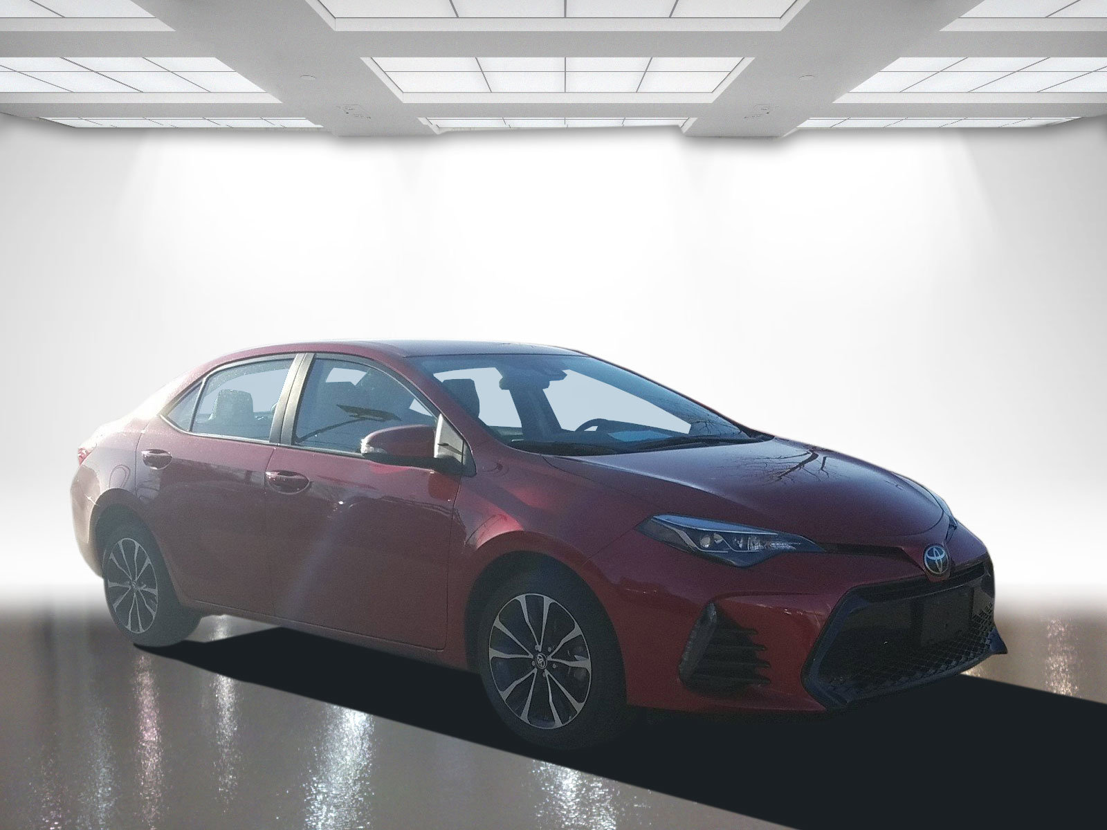 Pre-Owned 2017 Toyota Corolla S PLUS
