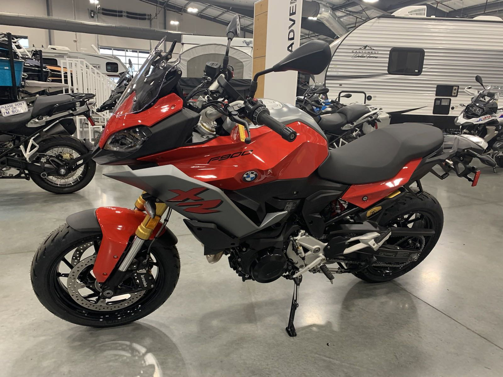 New 2021 BMW MOTORCYCLE F 900XR