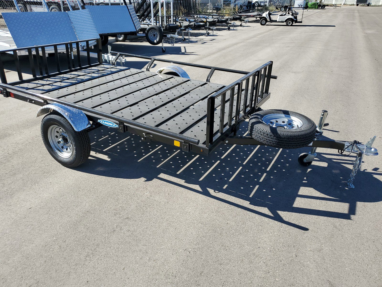 New 2021 TARGHEE SIDE LOAD 6' X 9'