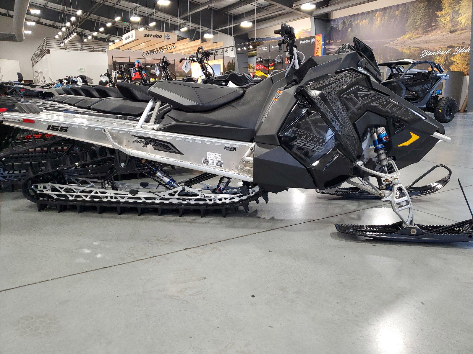 New 2021 POLARIS RMK 850 KHAOS 155 2.6