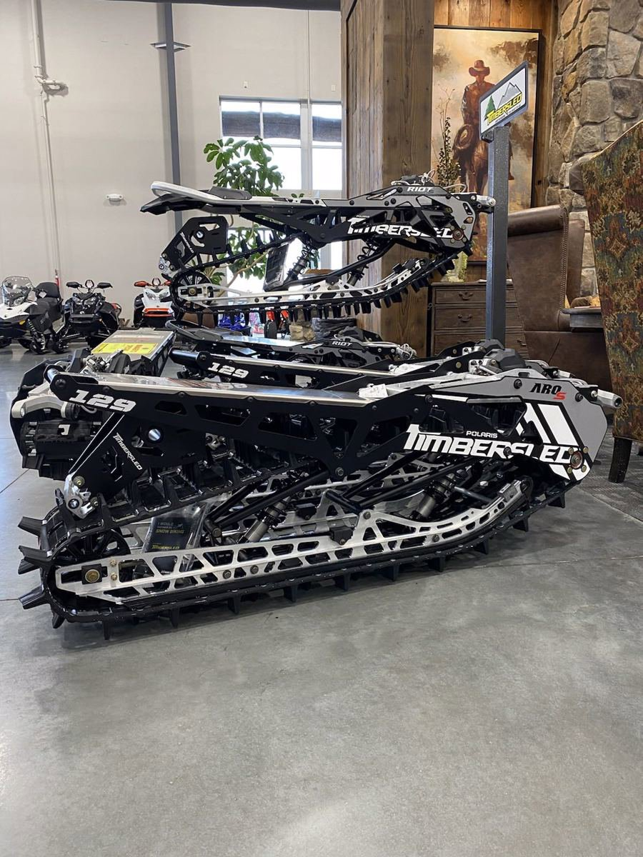 New 2021 TIMBER SLED ARO 129 S