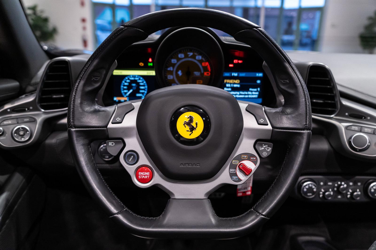 Certified Pre-Owned 2014 Ferrari 458 Spider