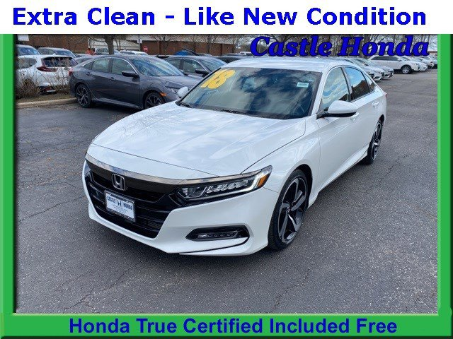 Certified Pre-Owned 2018 Honda Accord Sedan Sport