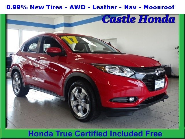 Certified Pre-Owned 2017 Honda HR-V EX-L