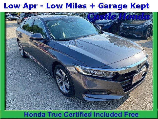 Certified Pre-Owned 2018 Honda Accord Sedan EX-L