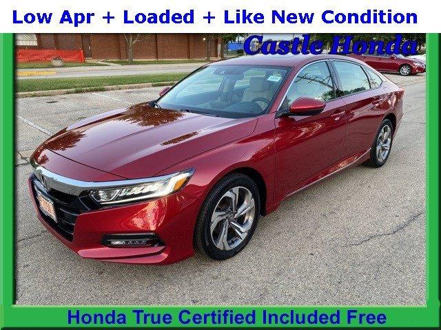 Certified Pre-Owned 2018 Honda Accord Sedan EX-L