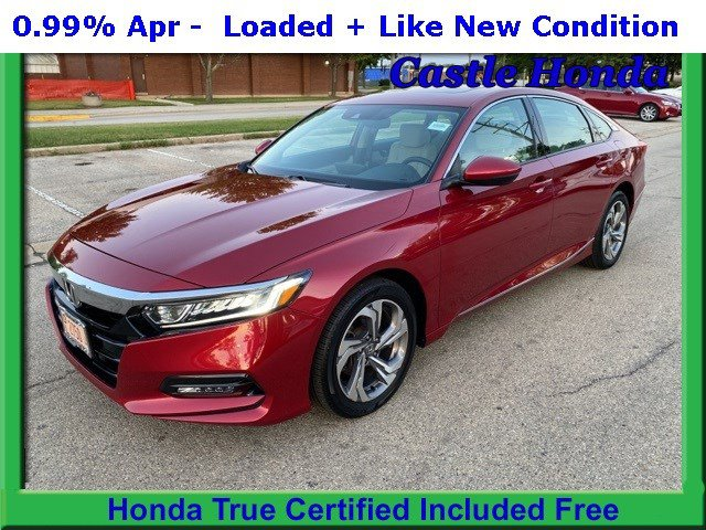 Certified Pre-Owned 2018 Honda Accord Sedan EX-L 1.5T
