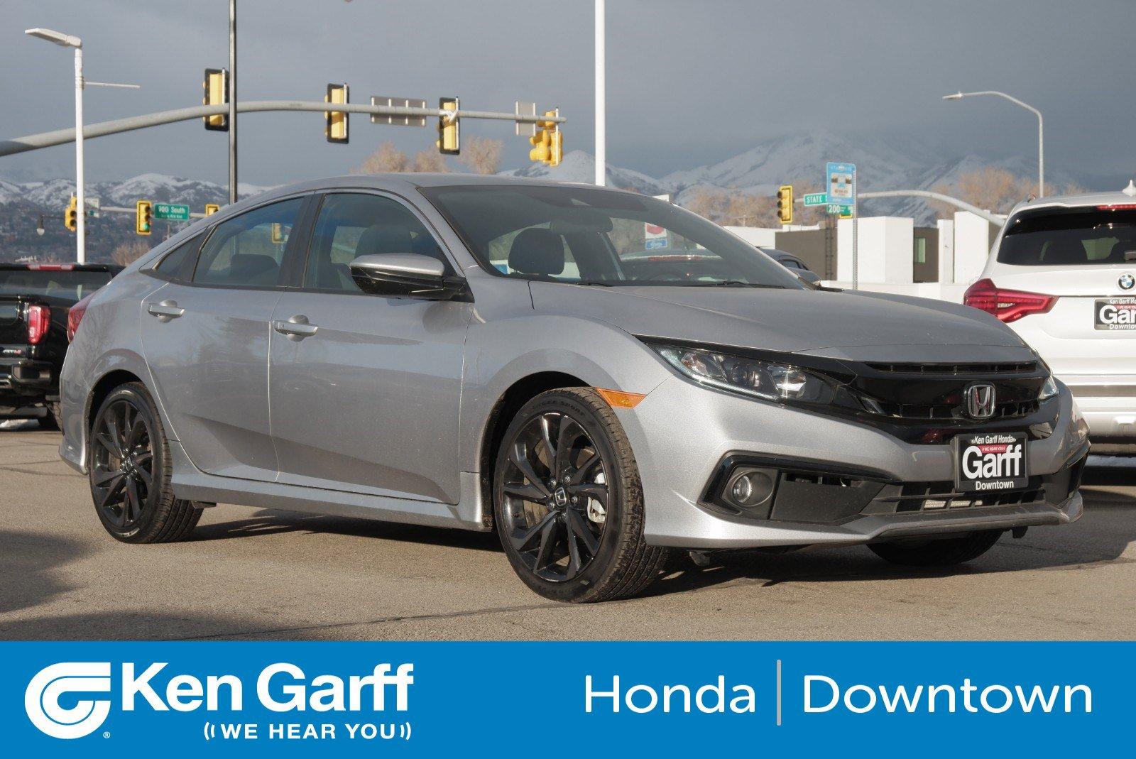 Certified Pre-Owned 2019 Honda Civic Sedan Sport