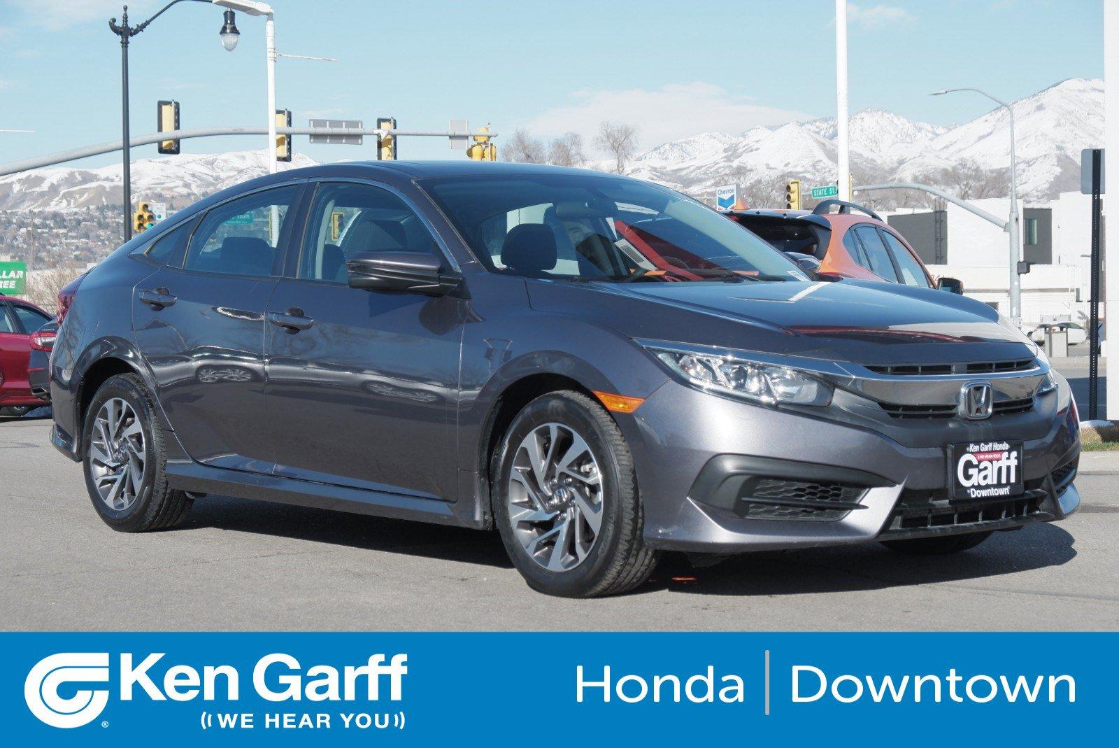 Certified Pre-Owned 2017 Honda Civic Sedan EX
