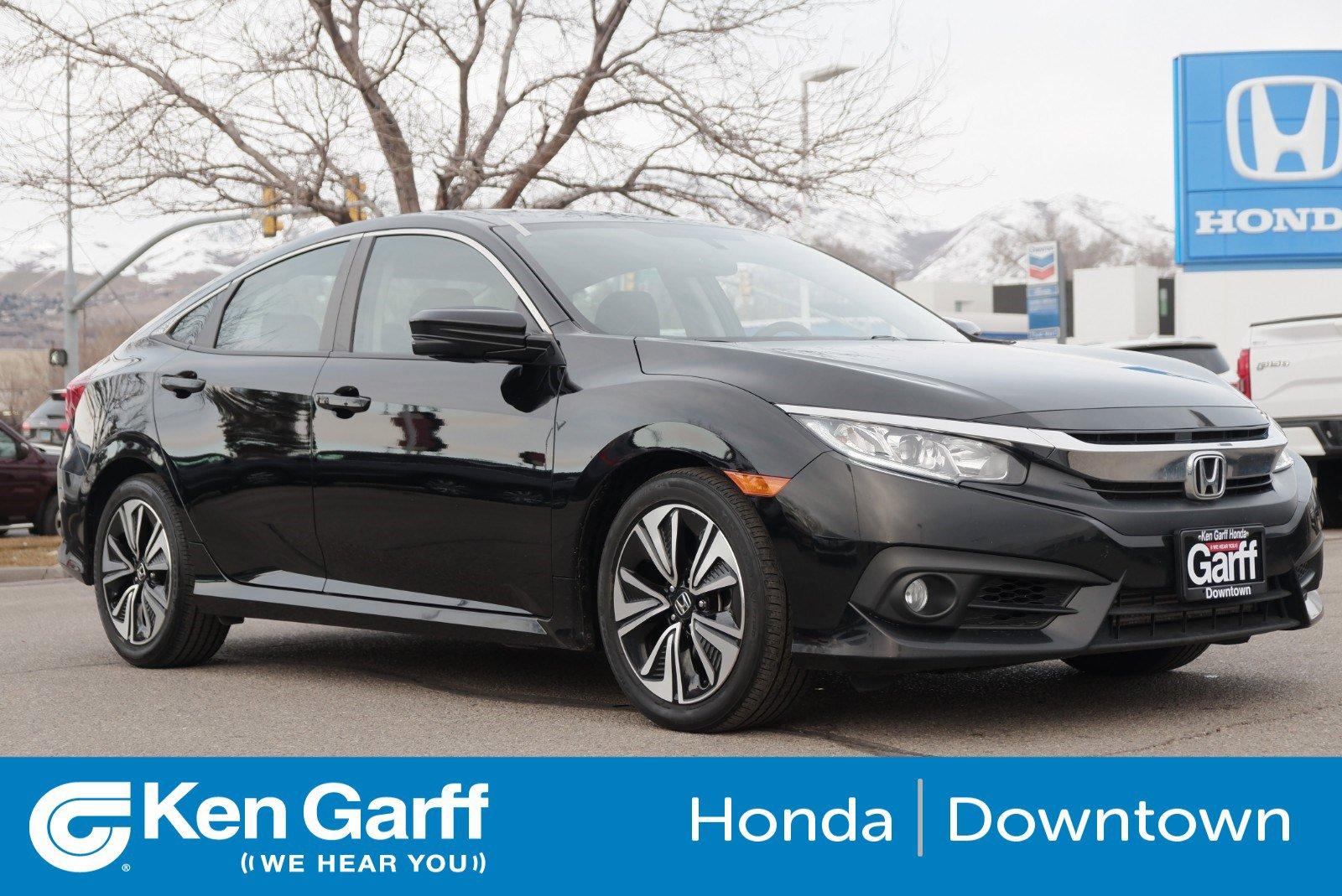 Certified Pre-Owned 2017 Honda Civic Sedan EX-T
