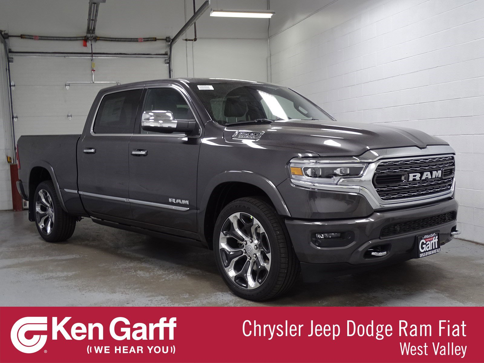 New 2019 Ram All New 1500 Limited Crew Cab In West Valley City