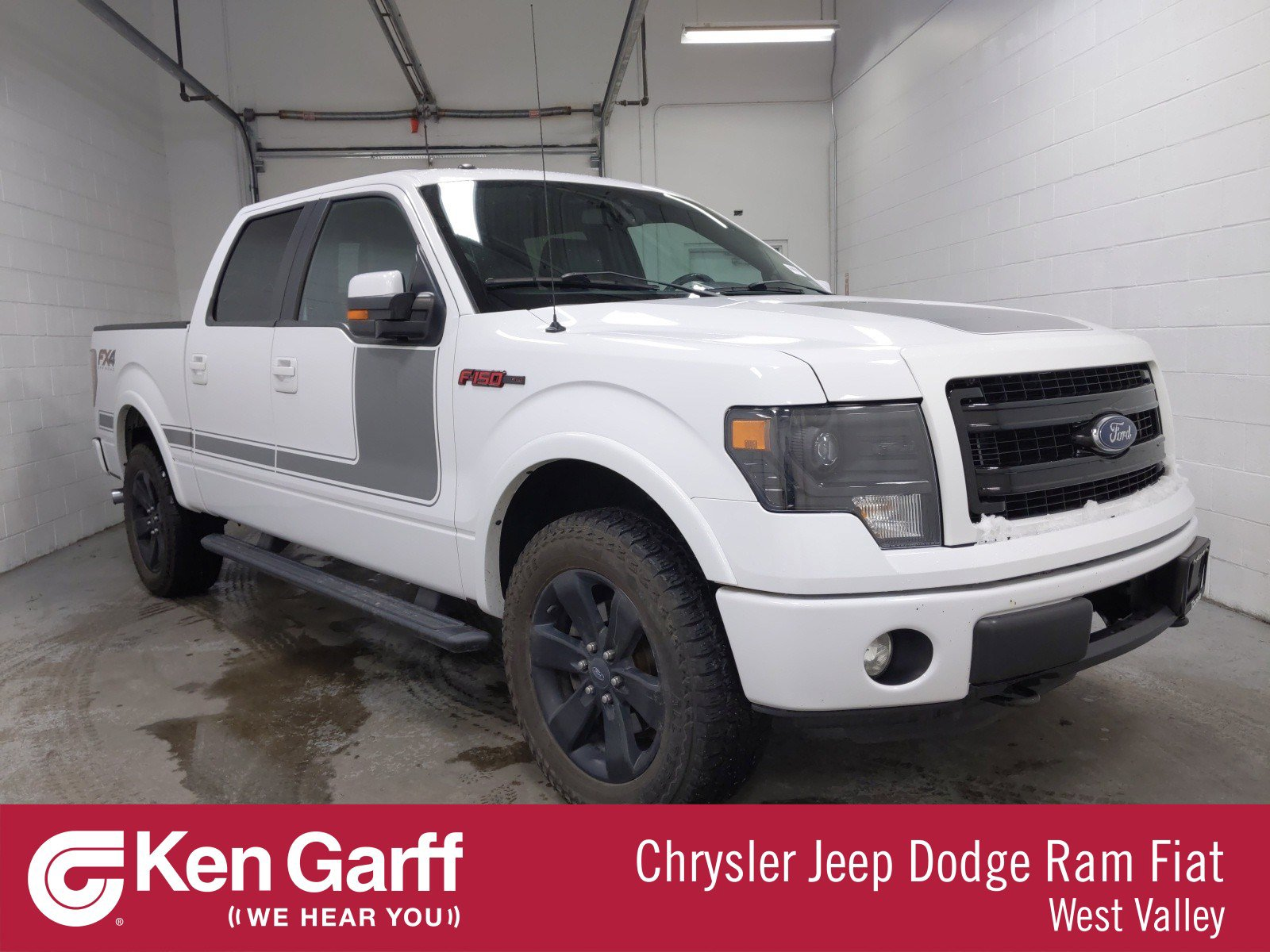 Pre-Owned 2013 Ford F-150 SUPERCREW 4X4 STYLE