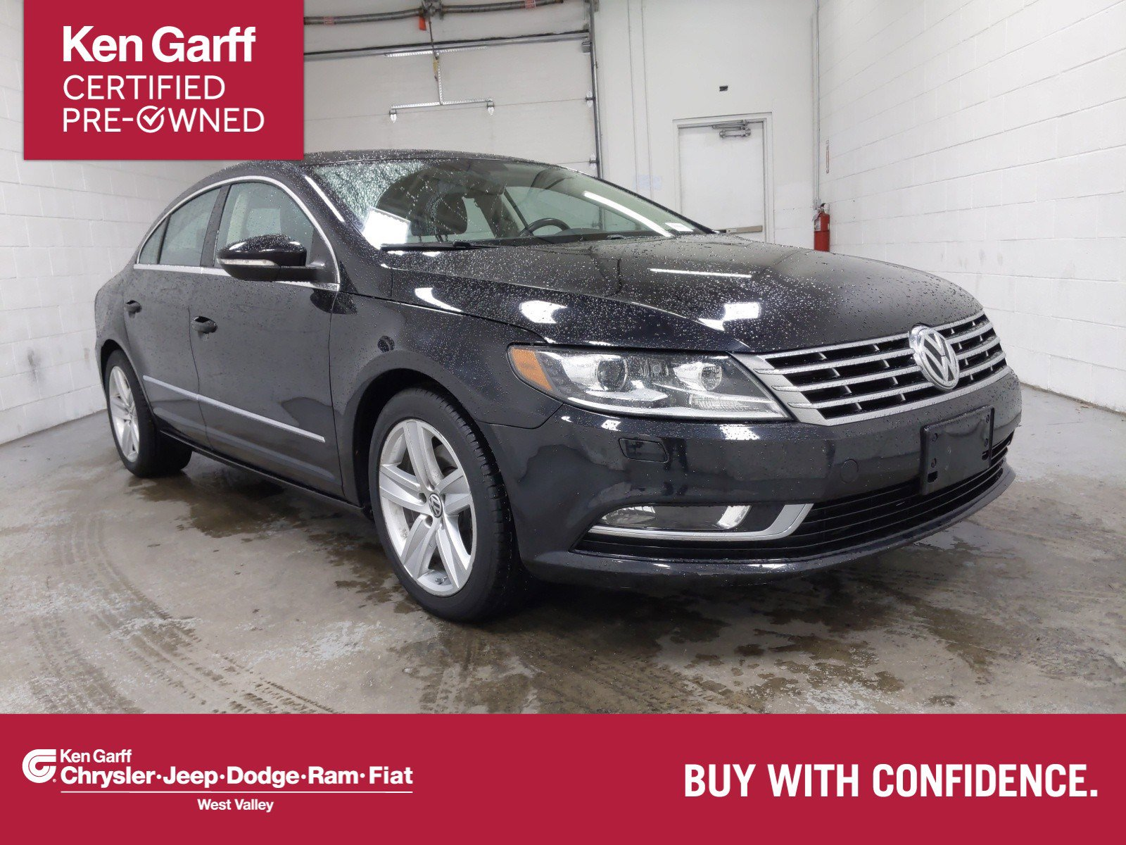 Pre-Owned 2015 Volkswagen CC 4DR SDN SPT PZEV DSG