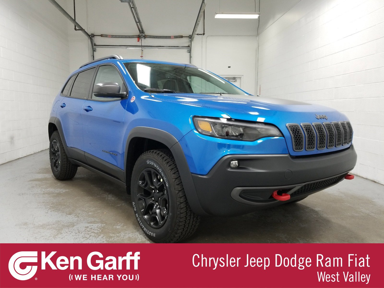 New Jeep Cherokee >> New Jeep Cherokee Trailhawk Elite With Navigation 4wd