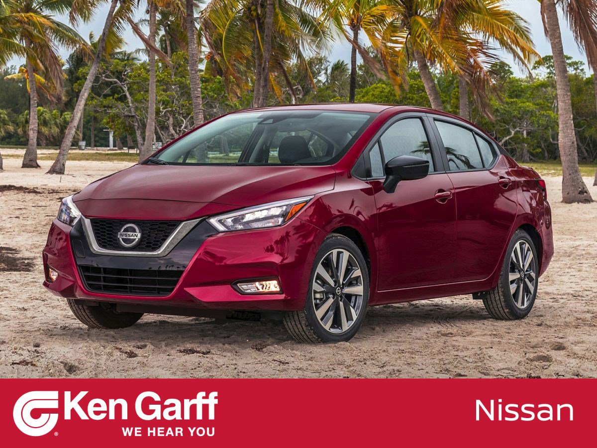 New 2020 Nissan Versa Sedan SV