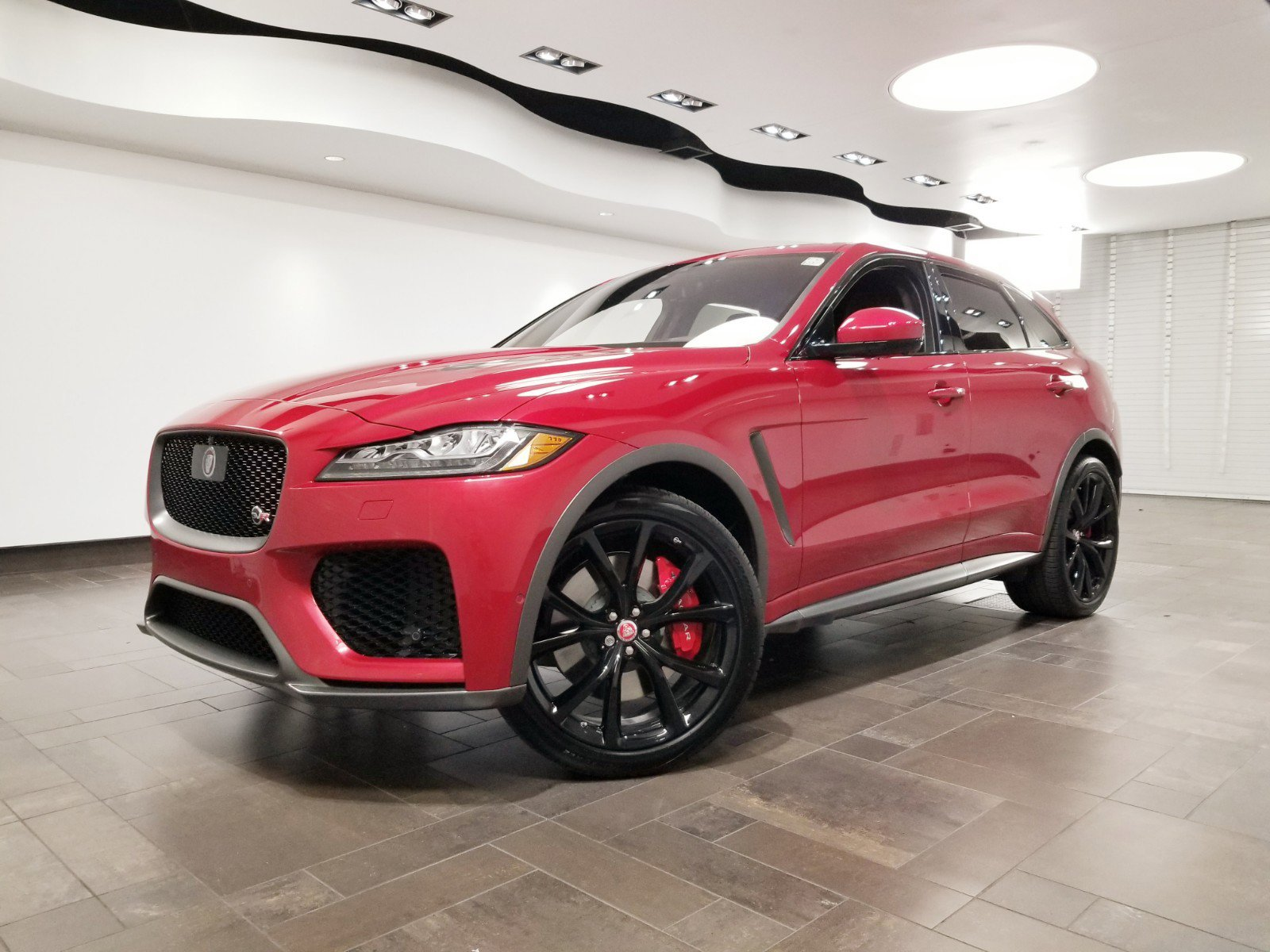 New 2020 Jaguar F-PACE SVR *Executive Demo*
