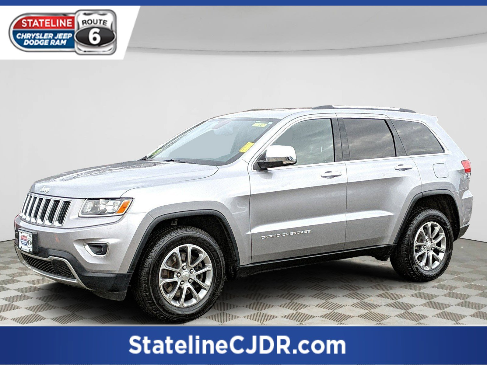 Pre-Owned 2016 Jeep Grand Cherokee Limited
