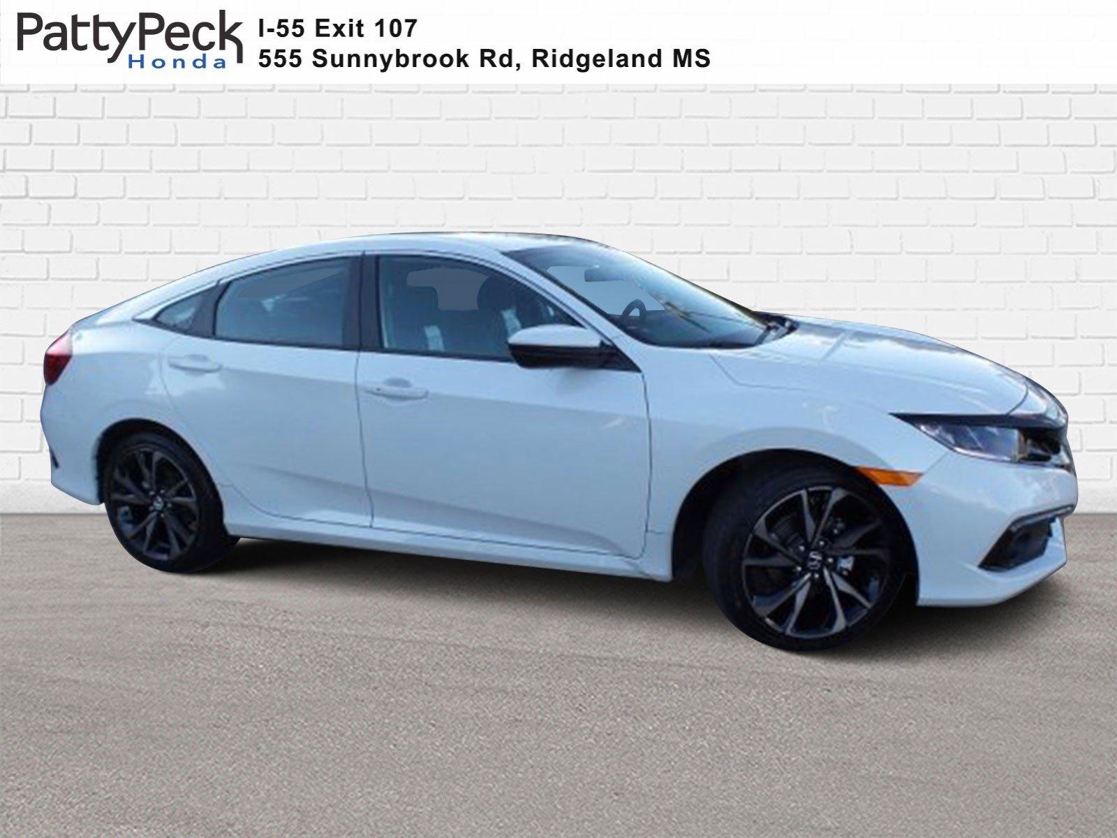 New 2020 Honda Civic Sedan Sport 4dr Car In Ridgeland Le026008 Patty Peck Honda
