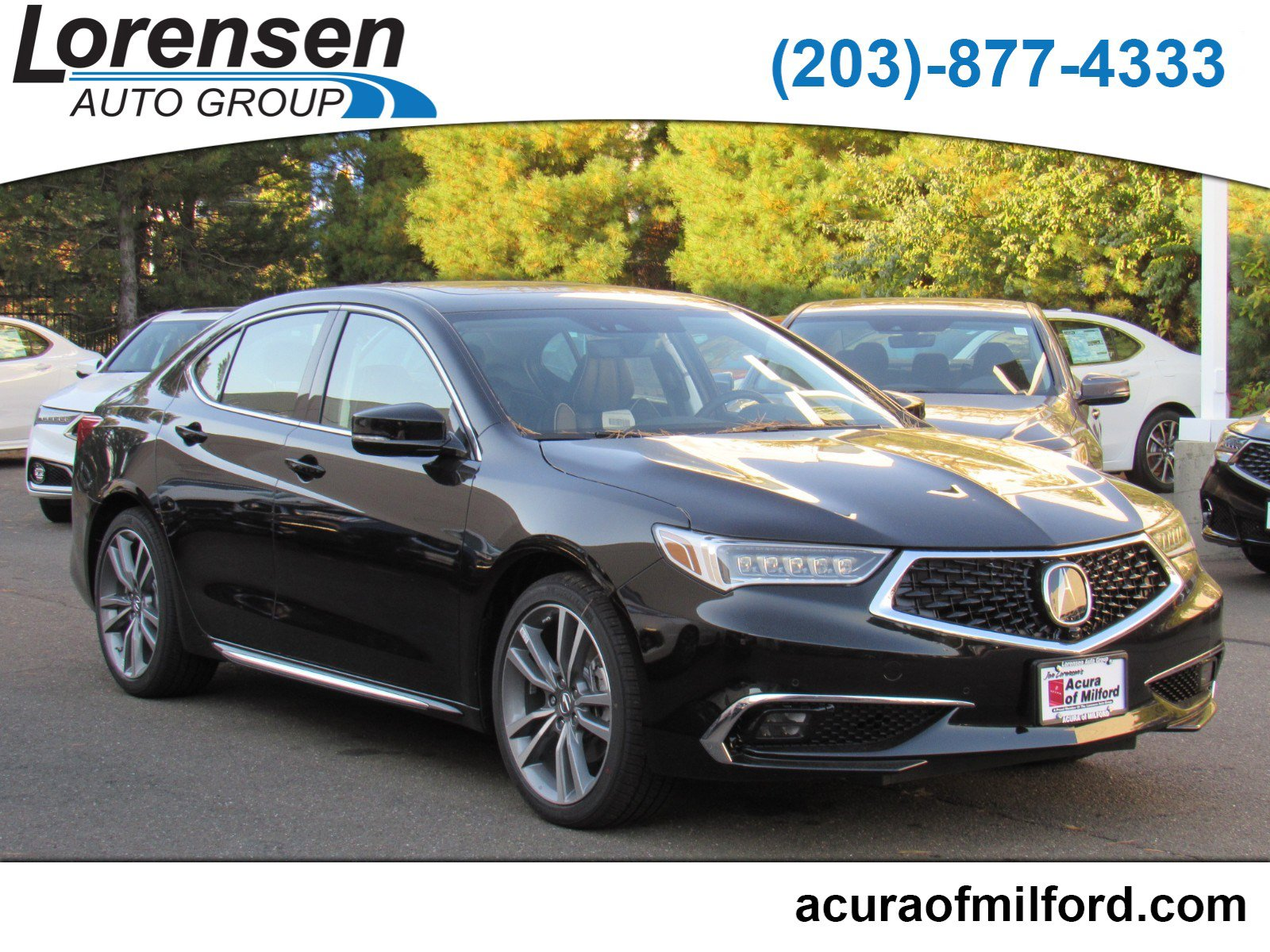 Pre Owned 2019 Acura Tlx W Advance Pkg 4dr Car In Milford 19104 Acura Of Milford