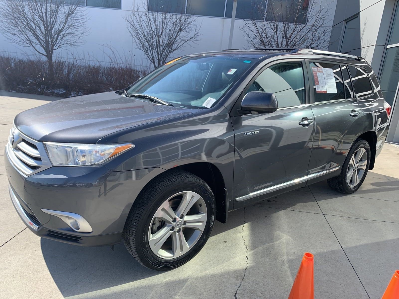 Pre-Owned 2012 Toyota Highlander Limited