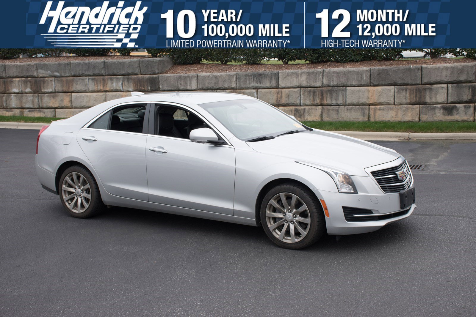 Pre-Owned 2017 Cadillac ATS Sedan Luxury AWD