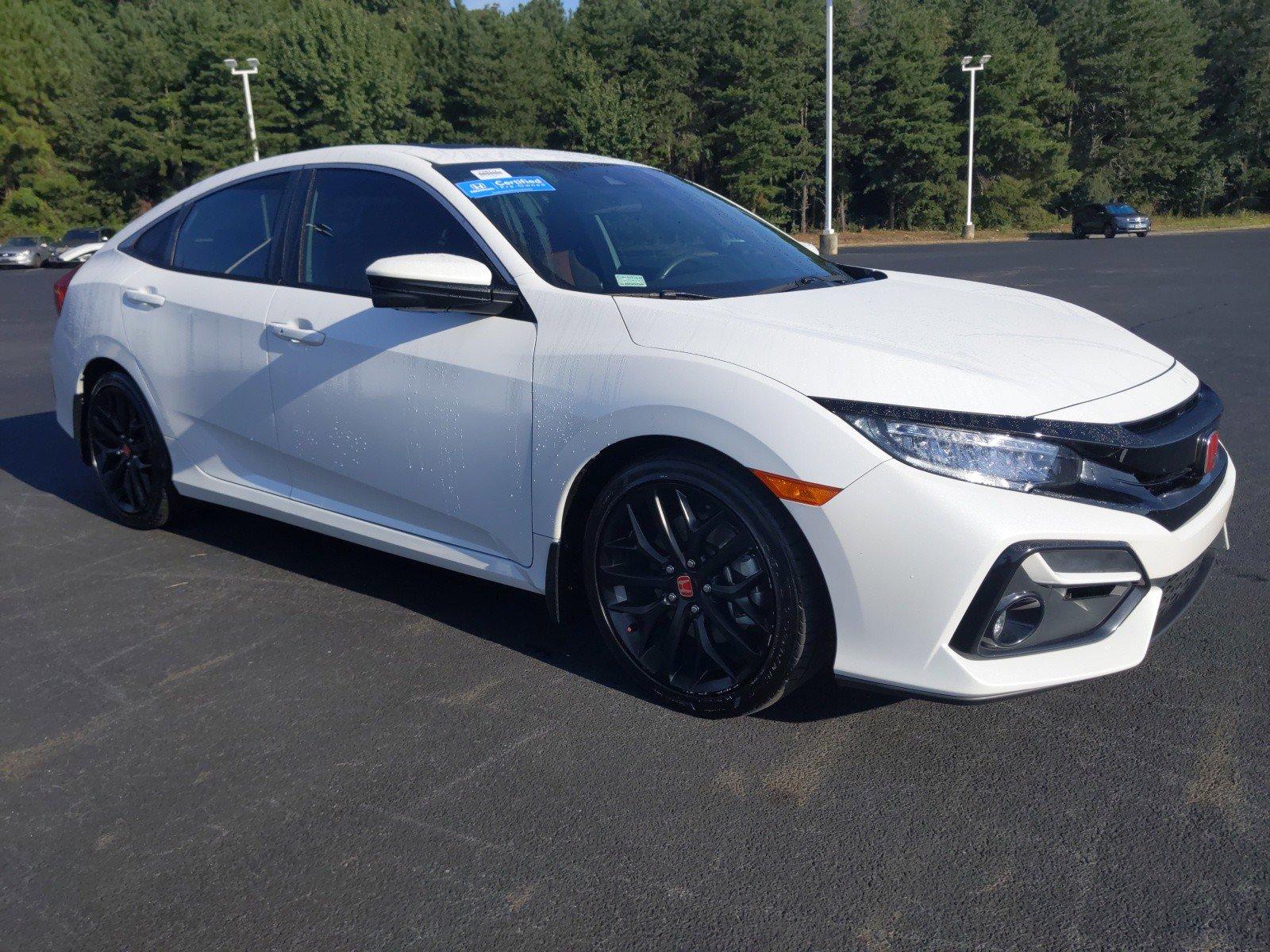 2020 Honda Civic Si Manual