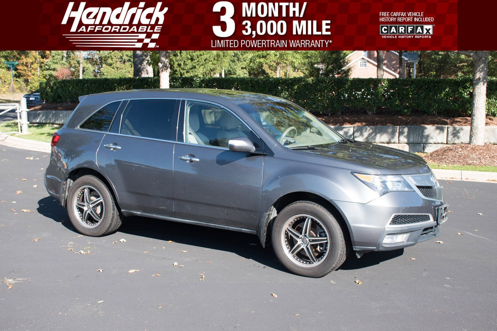 Pre-Owned 2012 Acura MDX Tech/Entertainment Pkg
