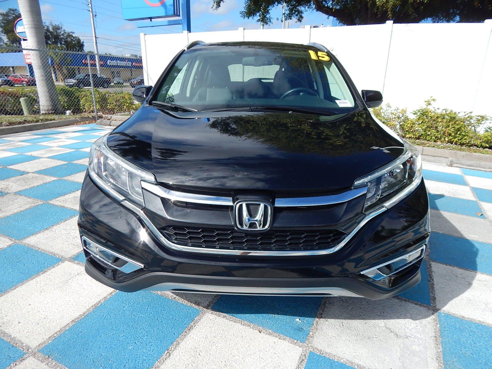 Certified Pre-Owned 2015 Honda CR-V EX-L