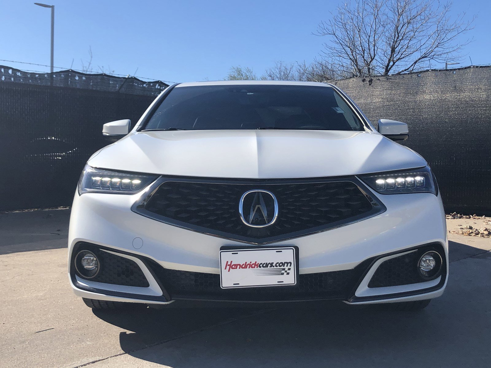 Pre-Owned 2018 Acura TLX w/A-SPEC Pkg Red Leather