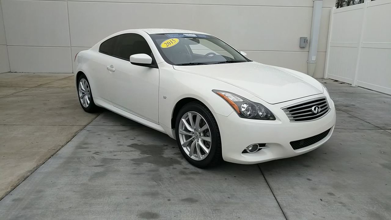 Pre-Owned 2015 INFINITI Q60 Coupe Journey