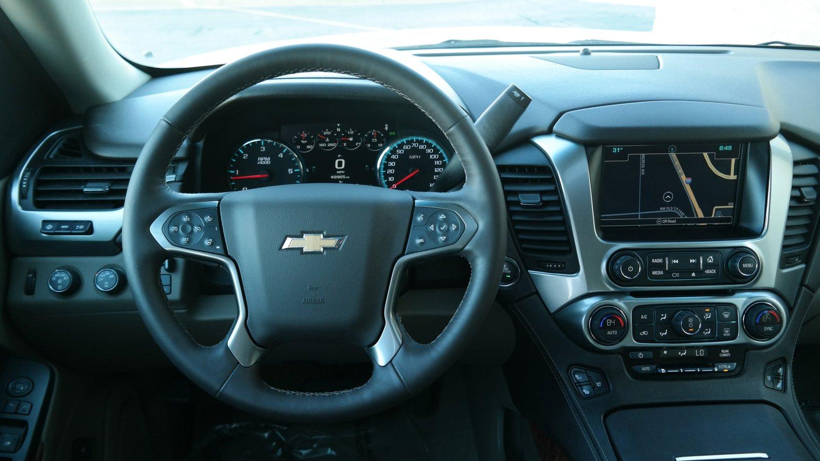 Pre-Owned 2016 Chevrolet Tahoe LTZ
