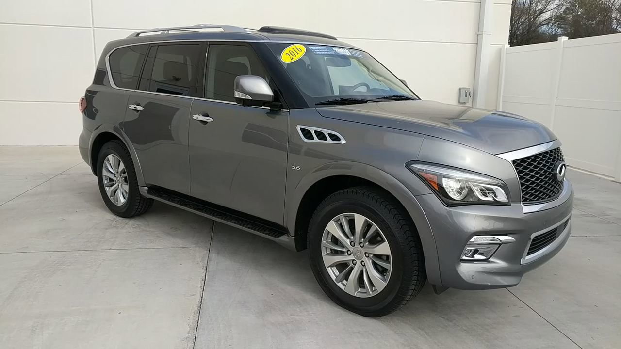 Pre-Owned 2016 INFINITI QX80 Limited