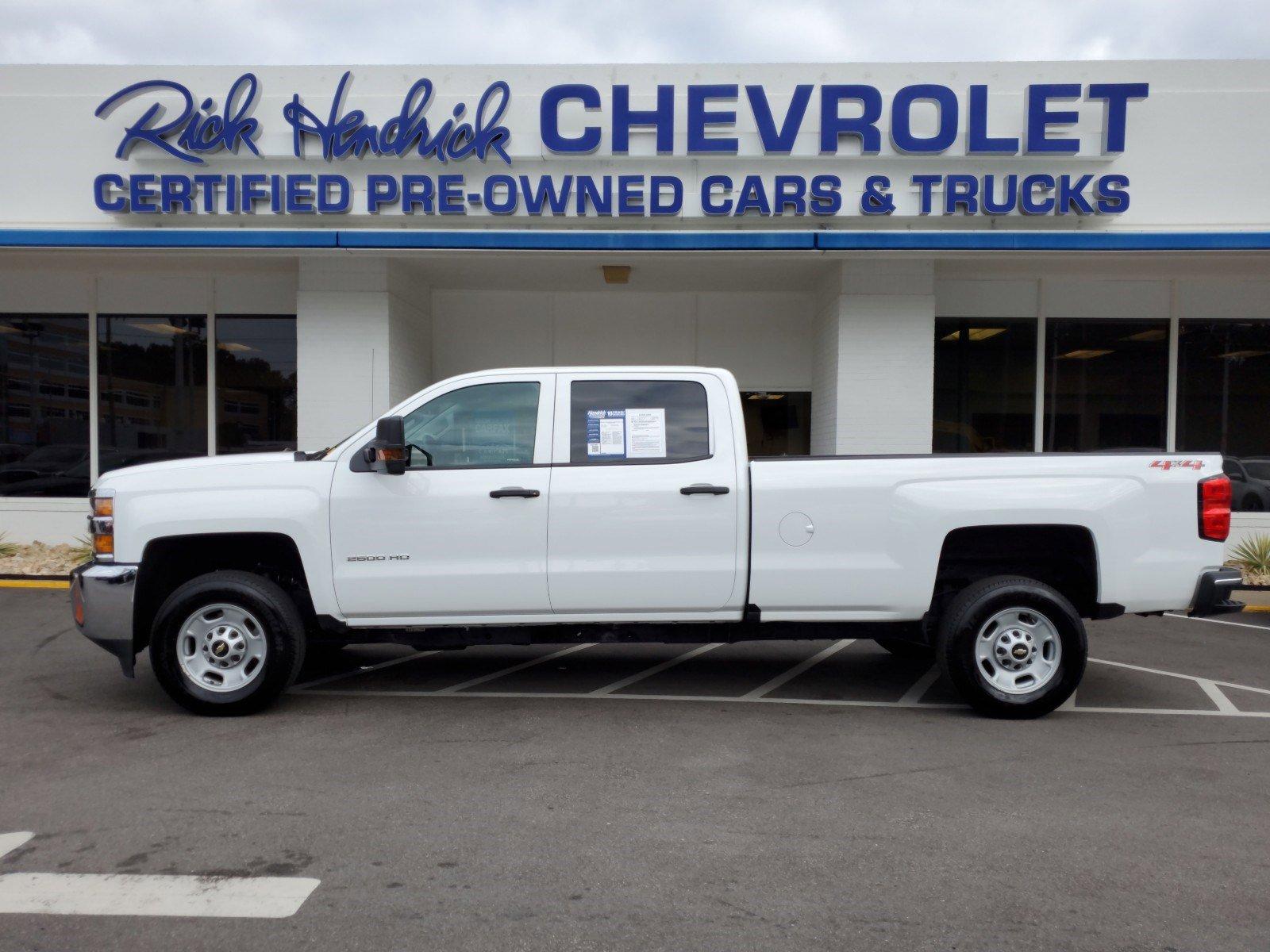 Pre-Owned 2019 Chevrolet Silverado 2500HD Work Truck