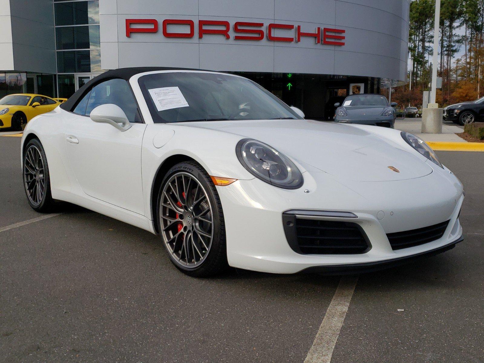 Pre-Owned 2017 Porsche 911 Carrera S Cabriolet