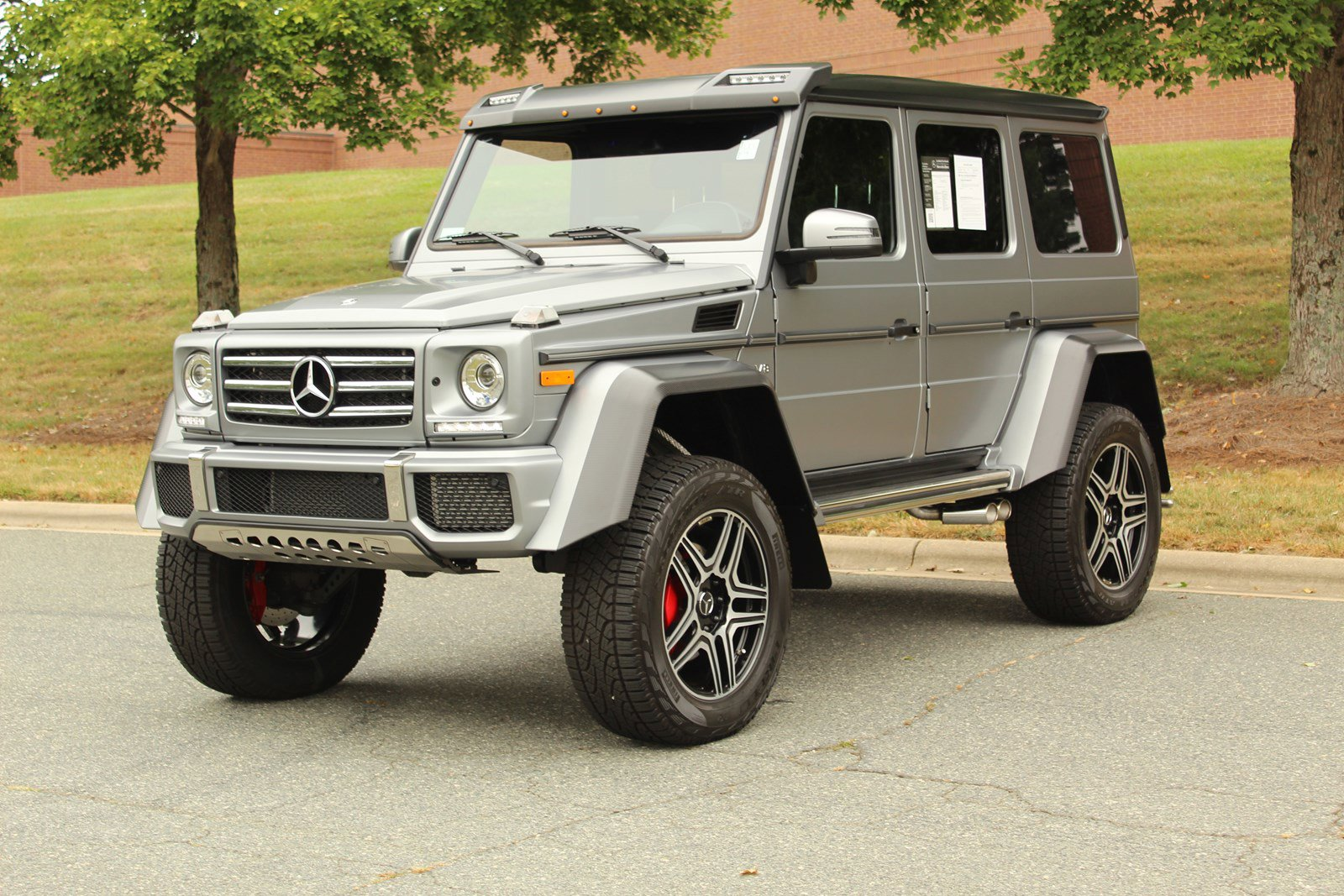 Pre-Owned 2018 Mercedes-Benz G-Class G 550 4x4 Squared