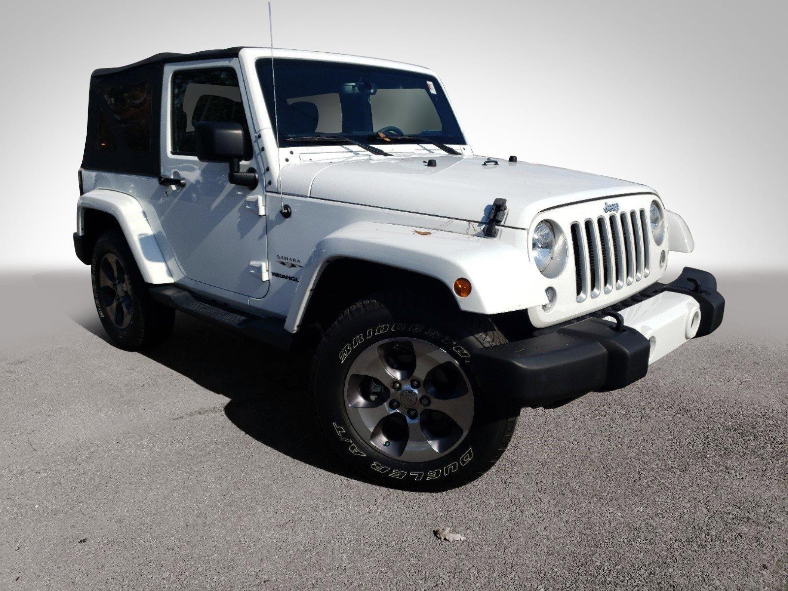 2016 Jeep Wrangler Sahara >> Pre Owned 2016 Jeep Wrangler Sahara