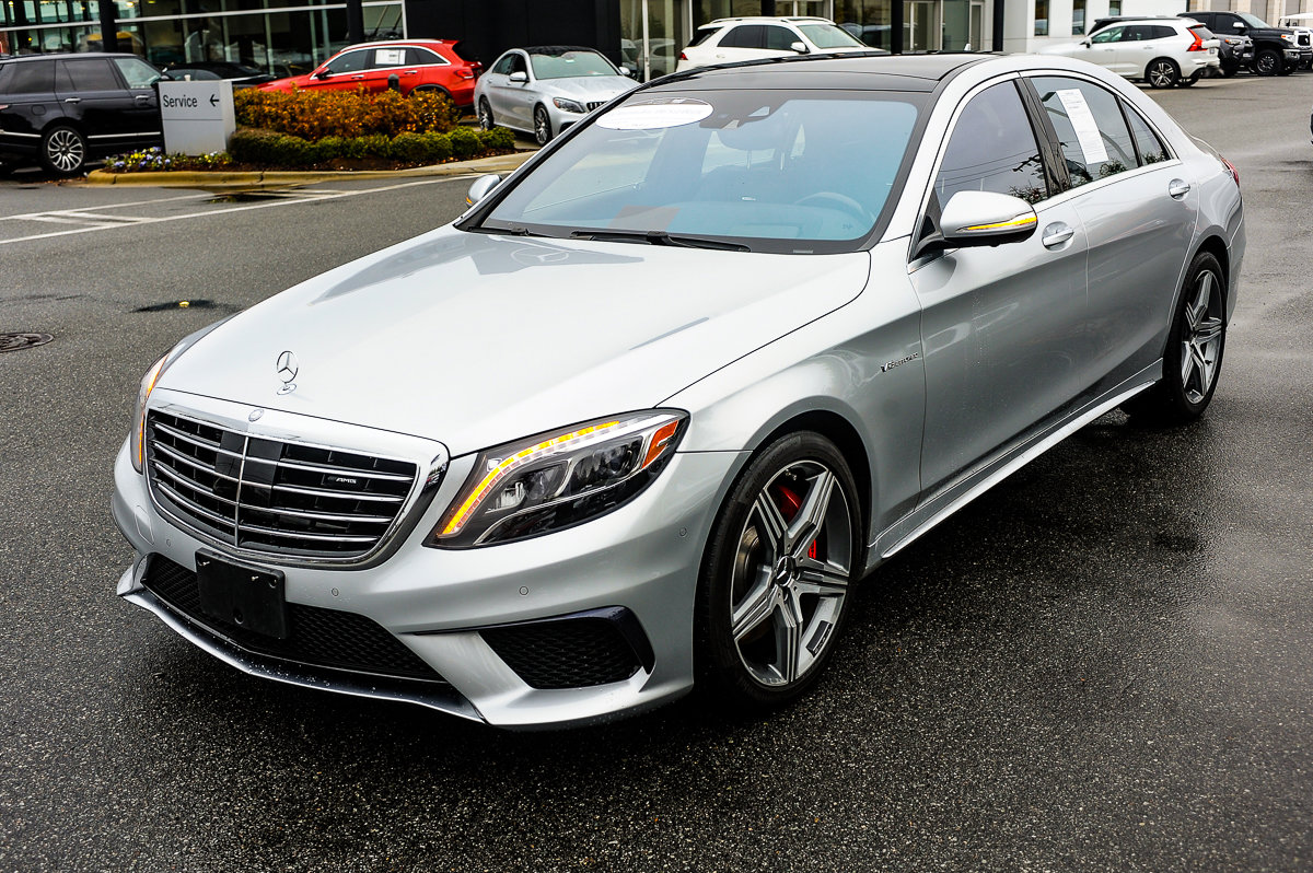 Pre-Owned 2016 Mercedes-Benz S-Class AMG® S 63