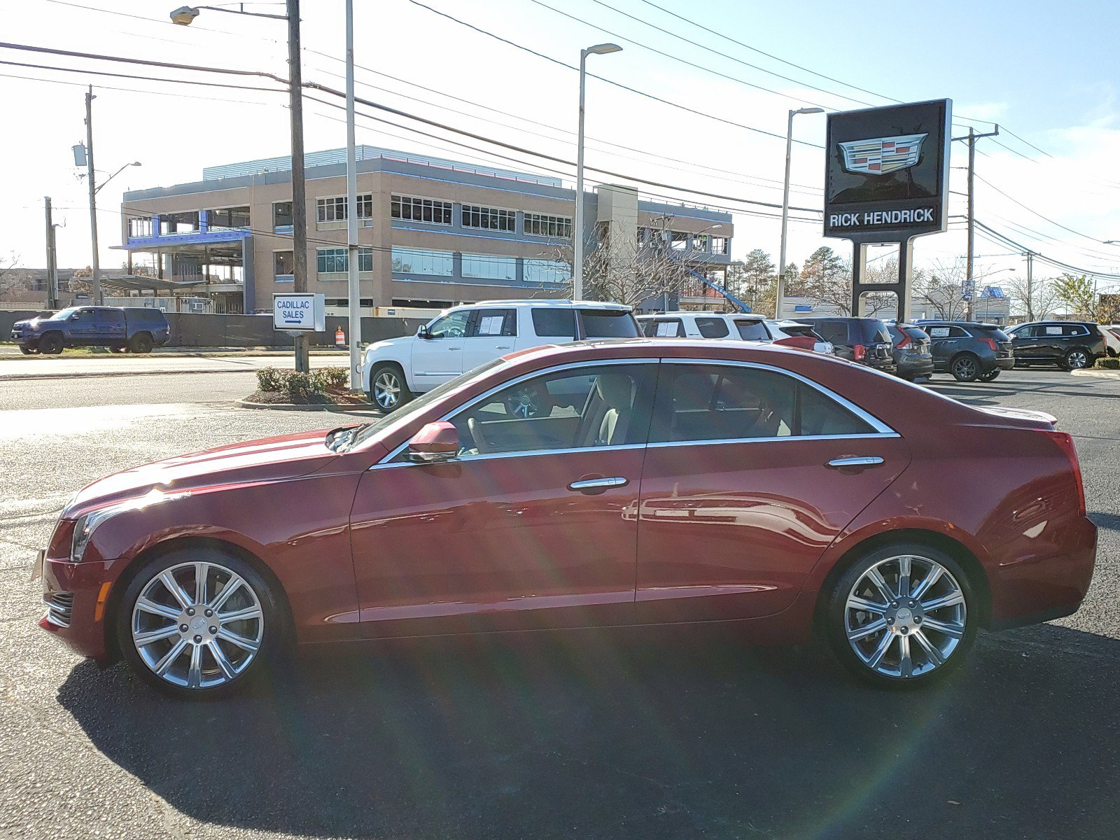 Pre-Owned 2016 Cadillac ATS Sedan Luxury Collection RWD