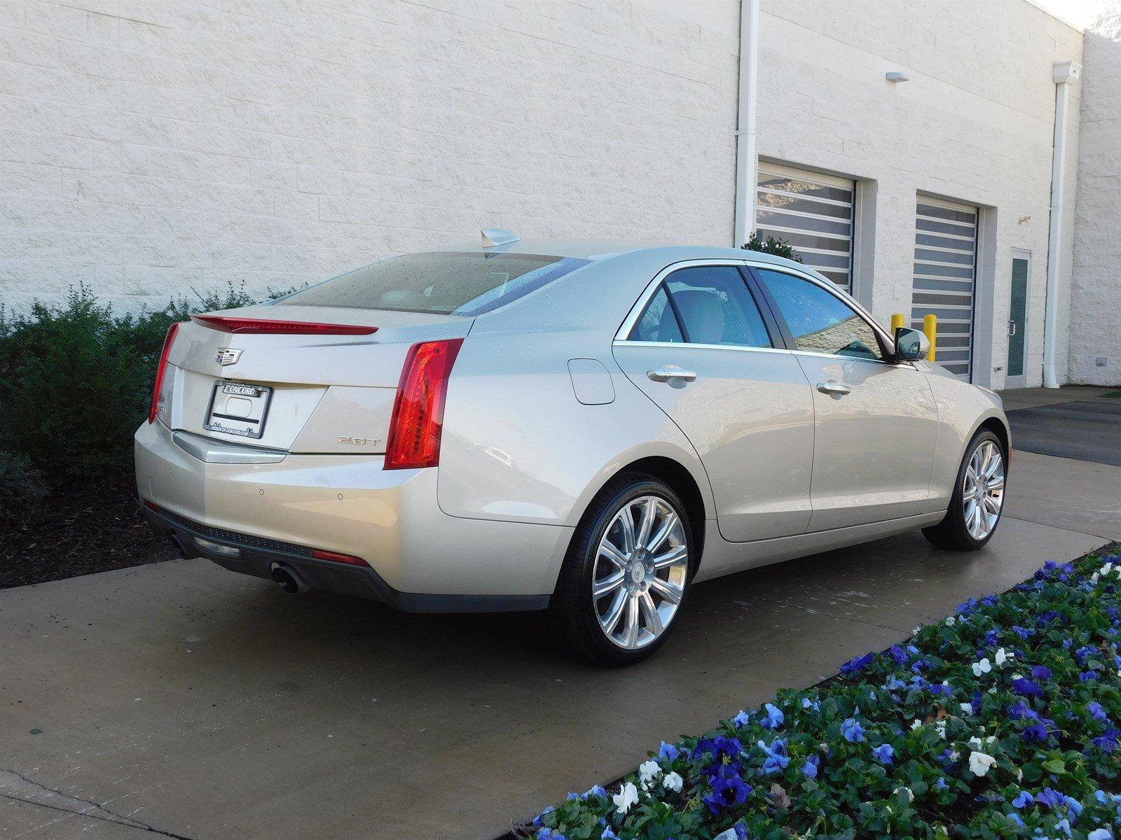 Pre-Owned 2015 Cadillac ATS Sedan Luxury AWD